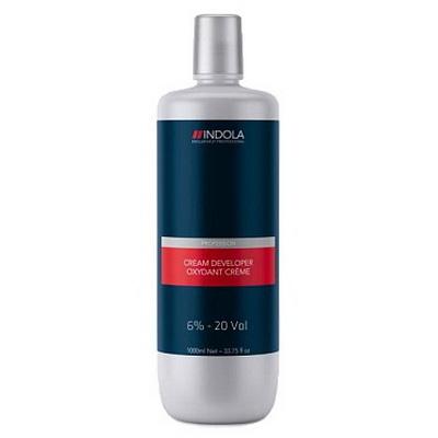 Купить Indola Проявитель-крем 6% для стойкой крем-краски для волос 1000мл, Indola Professional