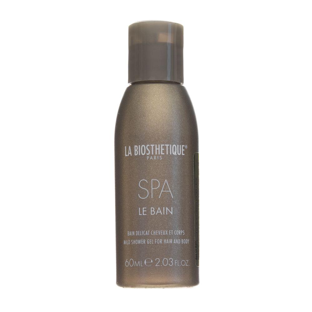 Купить La Biosthetique Le Bain SPA Мягкий освежающий велнес гель-шампунь для тела и волос 60мл