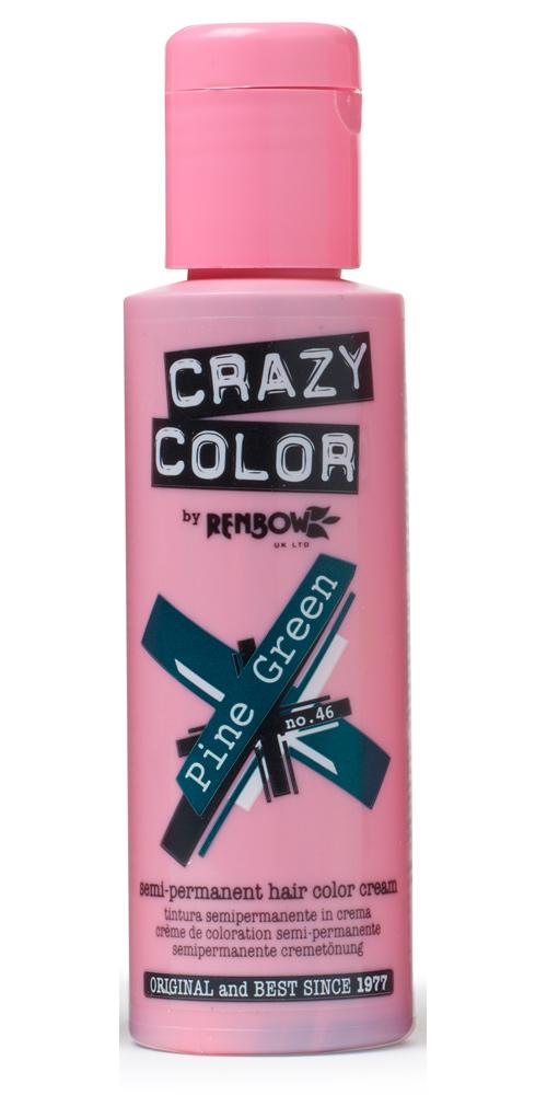 Crazy color краска для волос pine green / елово-зелёный 46 100мл