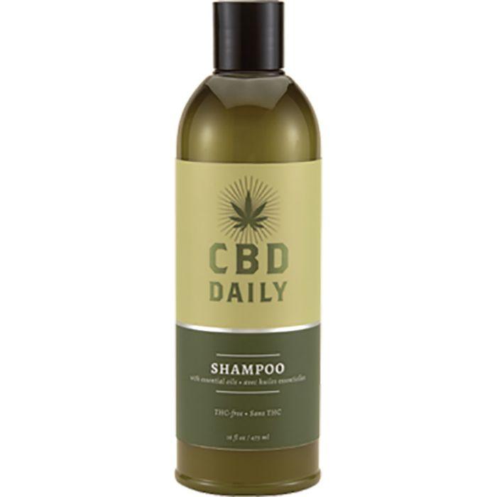 Купить CBD Лечебный Шампунь с Коноплей для волос и кожи головы для ежедневного применения 473мл, CBD Daily