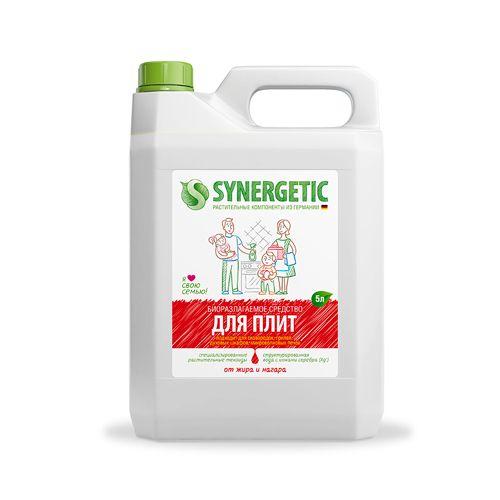 Купить Synergetic Гель чистящий для кухонных плит и поверхностей 5л