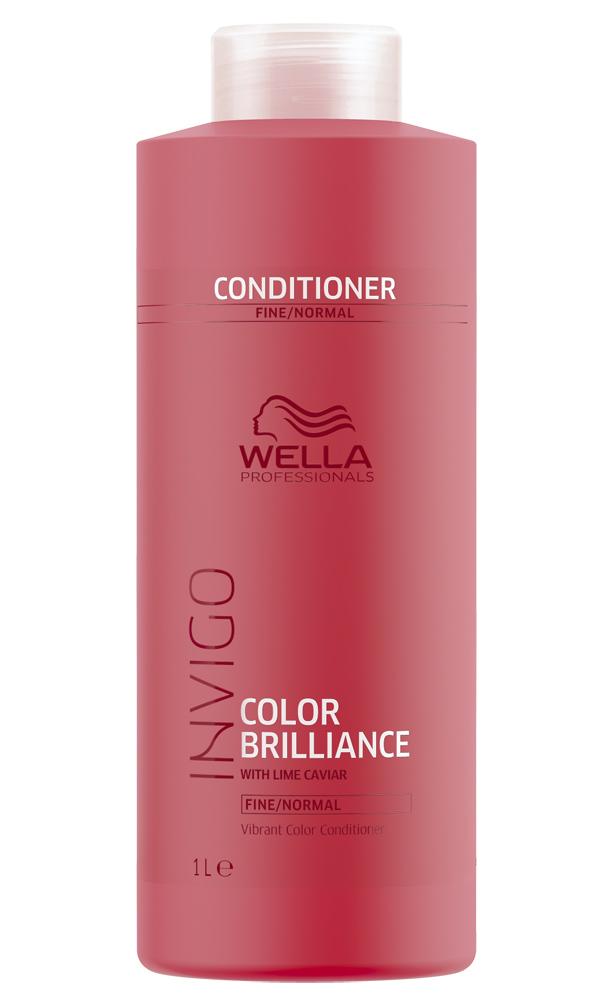Купить Wella Invigo Color Brilliance Бальзам-уход для защиты цвета окрашенных нормальных и тонких волос 1000мл