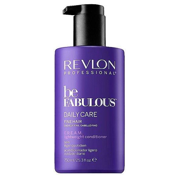 Купить Revlon Be Fabulous Кондиционер C.R.E.A.M Ежедневный уход для тонких волос 750мл