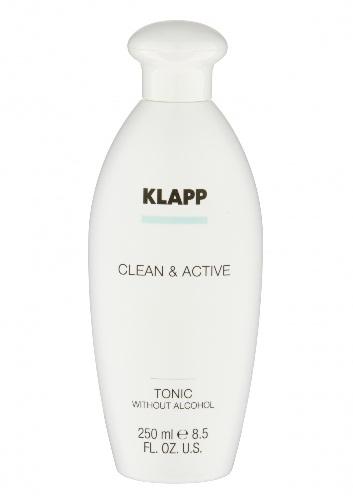 Klapp Clean & active Тоник без спирта, 250 мл