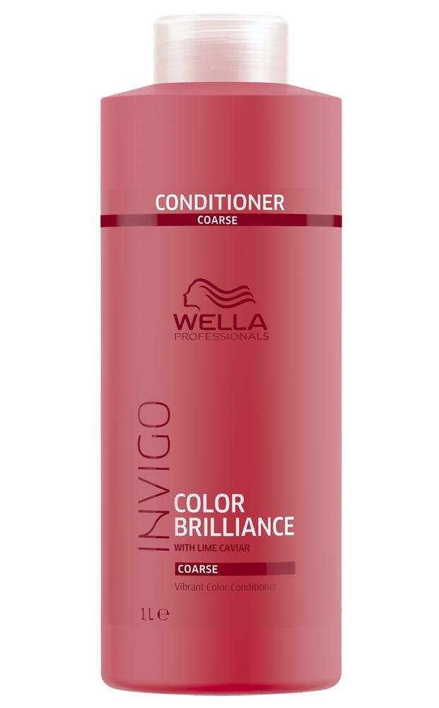 Купить Wella Invigo Color Brilliance Бальзам-уход для защиты цвета окрашенных жестких волос 1000мл
