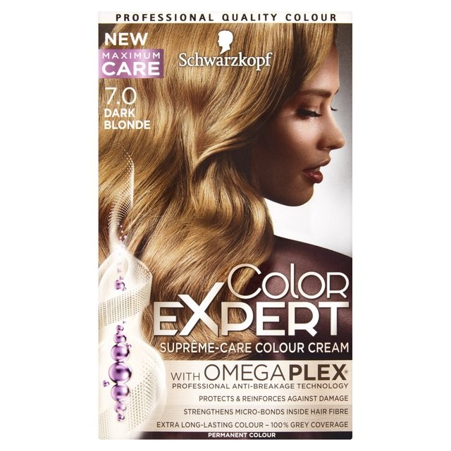 Schwarzkopf color expert краска для волос 7.0 темно-русый 167 мл