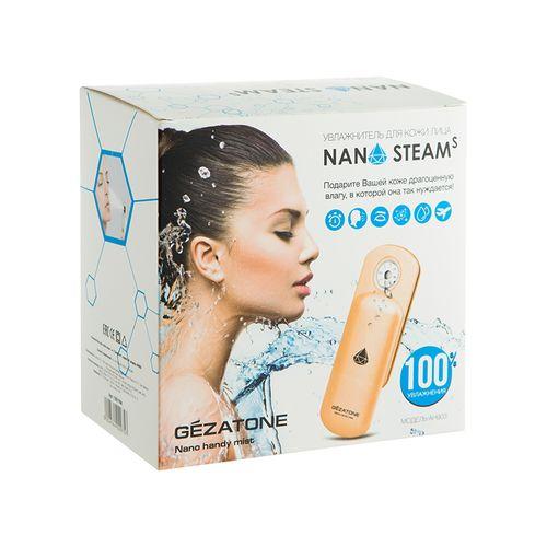 Gezatone увлажнитель для кожи лица Nano Steam S AH903 от Лаборатория Здоровья и Красоты