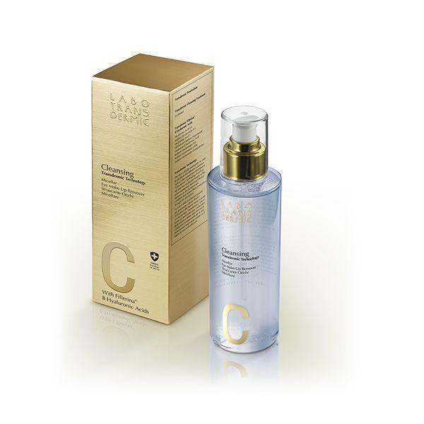 Купить Labo Трансдермик C Cleansing лосьон для снятия макияжа с глаз мицеллярный 100мл