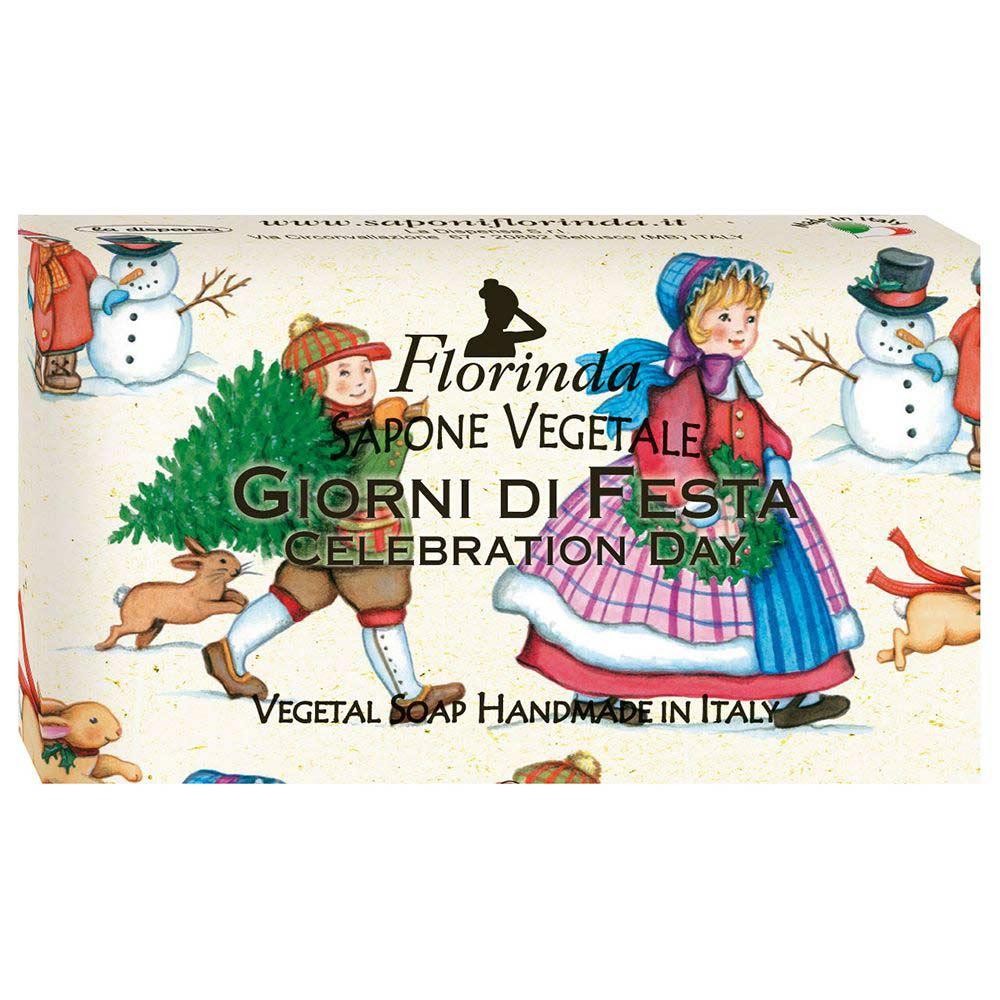 Florinda мыло счастливого рождества giorni di fiesta праздничный