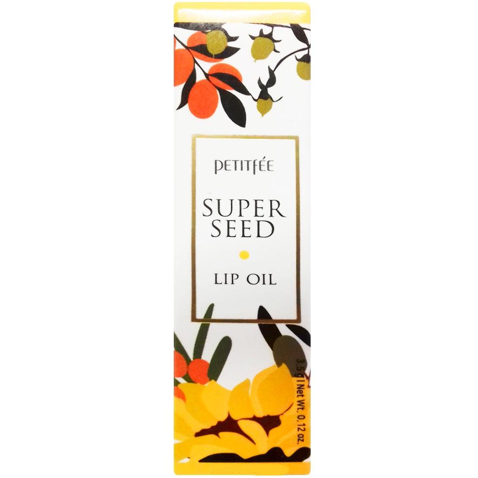 Petitfee Питательное масло для губ Super Seed Lip Oil 5г