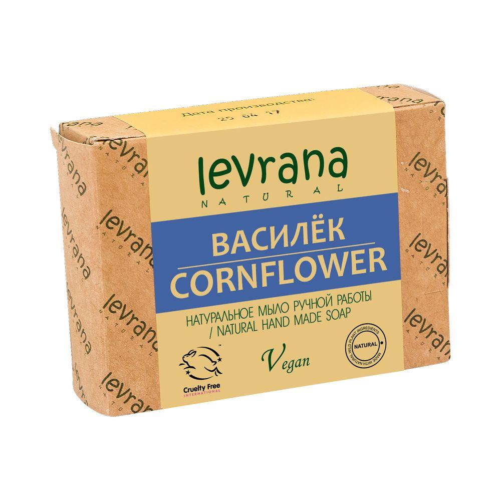 Купить Levrana Натуральное мыло ручной работы Василёк 100г