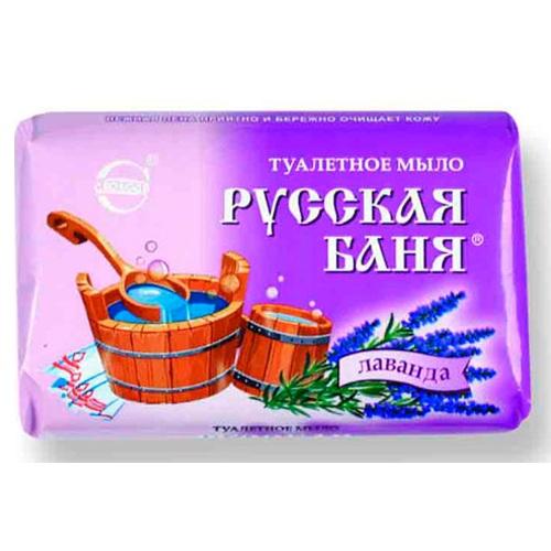Купить Мыло РУССКАЯ БАНЯ лаванда 100г Свобода