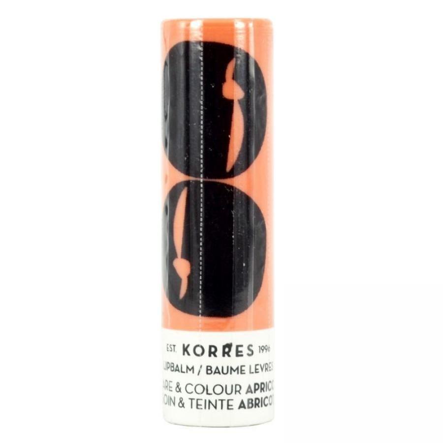 Korres Бальзам-стик для губ  уход и цвет абрикос 5 мл