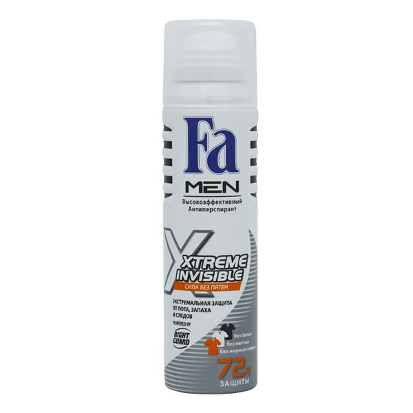 Купить Fa MEN Дезодорант-антиперспирант аэрозоль Xtreme Invisible 150мл