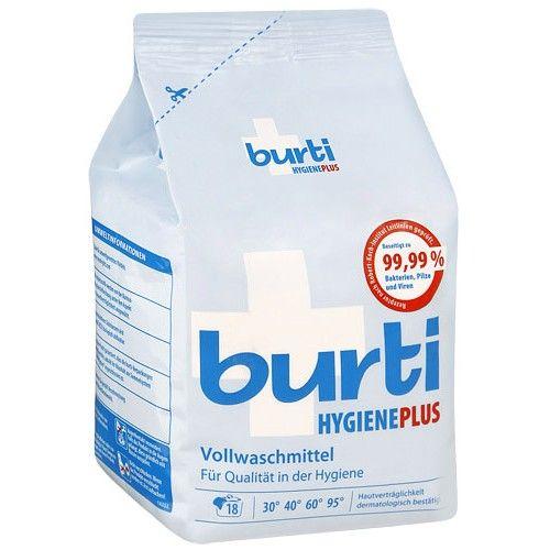 Burti Hygiene Plus Универсальный cтиральный порошок для белого белья с дезинфицирующим эффектом 1,1 кг от Лаборатория Здоровья и Красоты