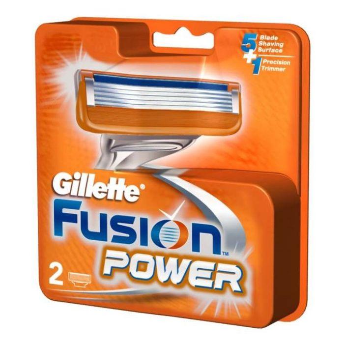 Жиллет Fusion Power Сменные кассеты для бритья N2 GILLETTE