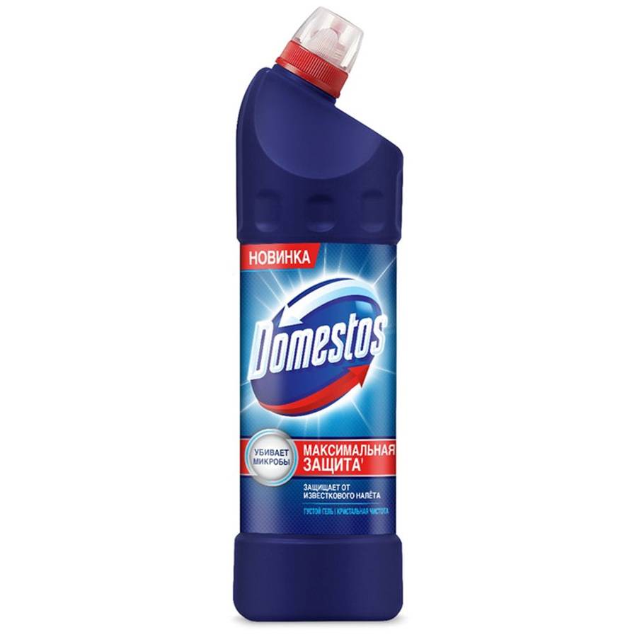 Domestos средство универсальное чистящее кристальная чистота 1л