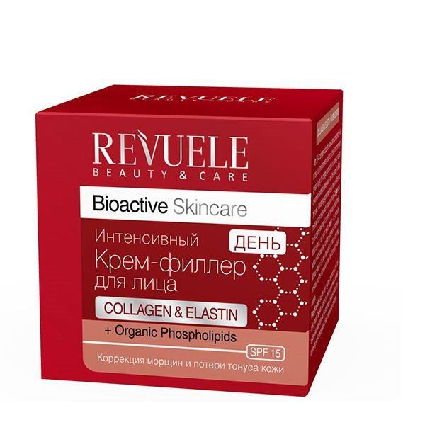 Купить Revuele Bioactive skincare Collagen&Elastin Крем-филлер для лица дневной интенсивный 50мл