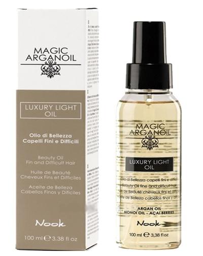 Купить Nook Magic Arganoil Масло для тонких и непослушных волос Luxury Light Oil 100 мл