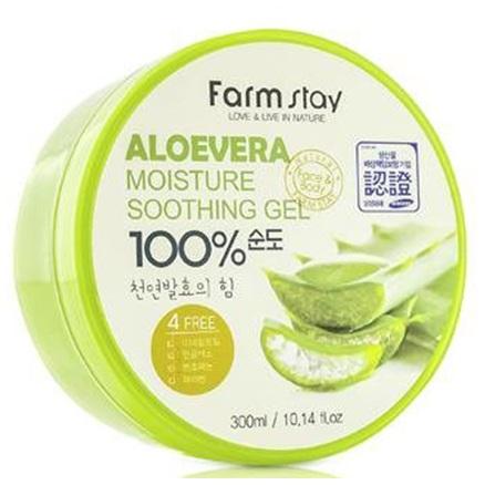Farm Stay FarmStay Многофункциональный смягчающий гель с экстрактом алое вера 300мл