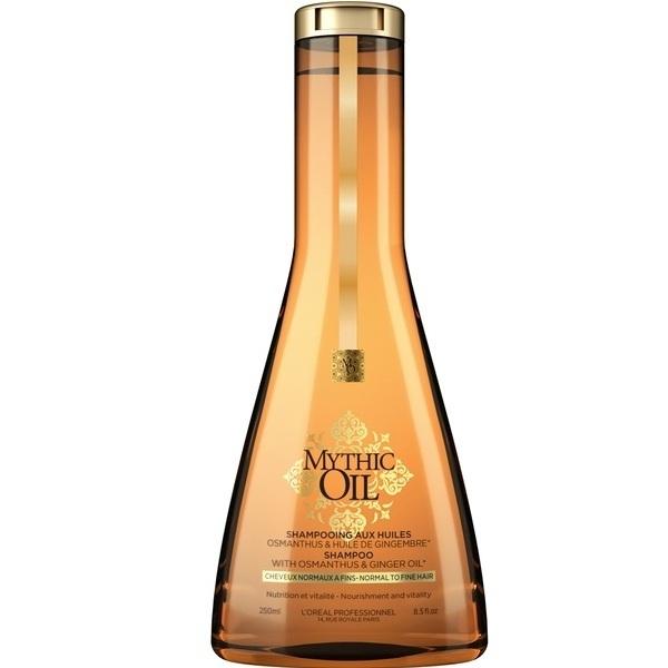Купить Лореаль (Loreal Professionnel) Mythic Oil шампунь для тонких волос 250мл, L'Oreal Professionnel
