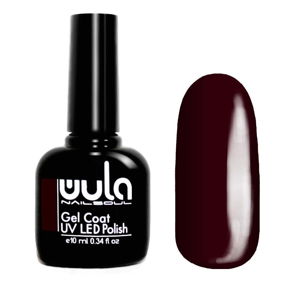 Wula nailsoul гель лак 10мл тон 313 темно-вишневый фото