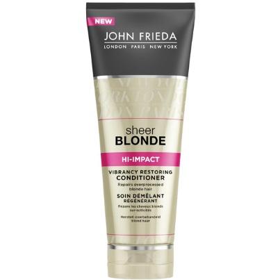 Купить со скидкой John Frieda Sheer Blonde HI-IMPACT Восстанавливающий кондиционер для сильно поврежденных волос 250 м