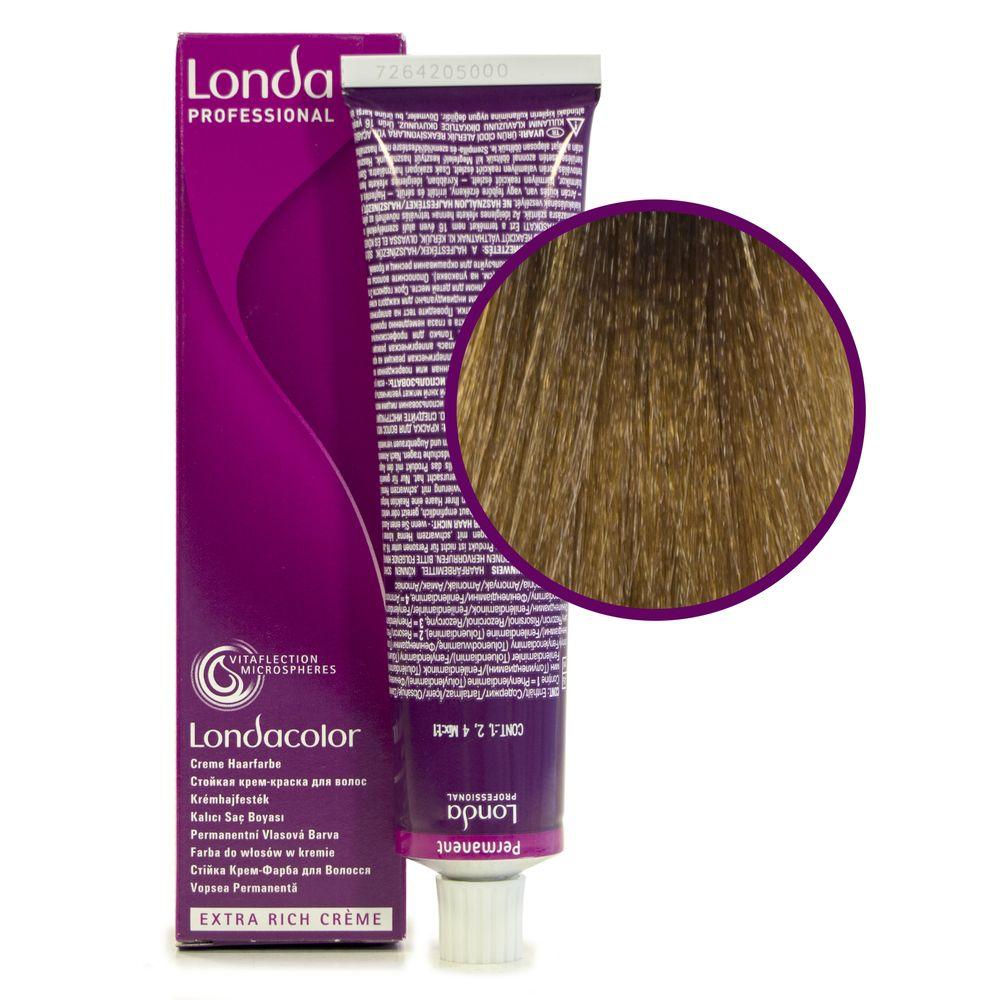 Londa Color 8/73 светлый блонд коричнево-золотистый стойкая крем-краска 60мл LONDA PROFESSIONAL