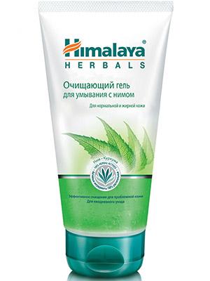 Купить Хималая Хербалс Очищающий гель для умывания с нимом для нормальной и жирной кожи 150 мл, Himalaya Herbals