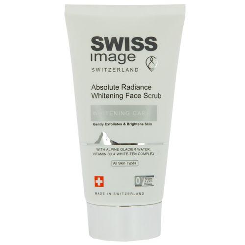 Swiss Image осветляющий скраб для лица выравнивающий тон кожи 150 мл
