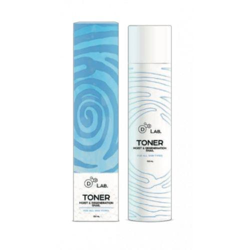 Купить D2 Lab Тонер для лица Муцин Улитки Toner Moist & Regeneration Snail 150мл