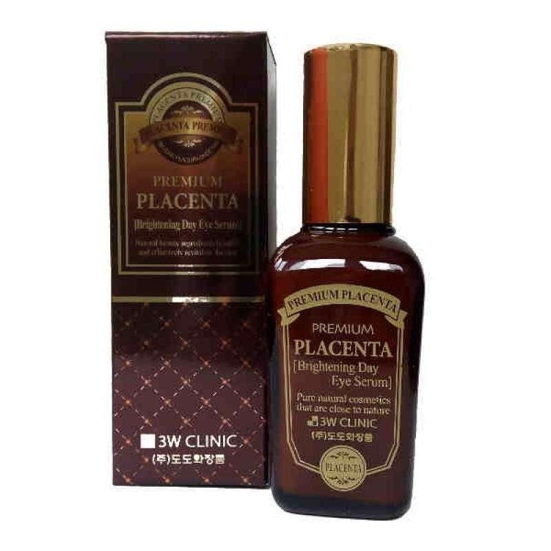 Купить 3W Clinic Плацента Сыворотка для век антивозрастной Premium placenta brightening day eye serum 50мл