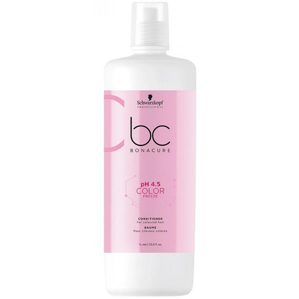 Schwarzkopf Bonacure Color Freeze pH4.5 Кондиционер для окрашенных волос 1000мл