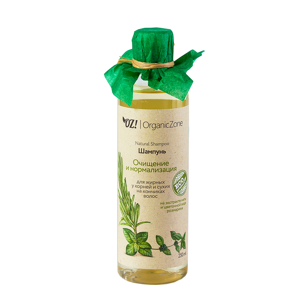 Купить OZ! OrganicZone Шампунь Очищение и нормализация 250 мл, OZ! Organic Zone