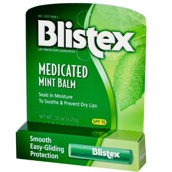 Blistex medicated mint lip balm бальзам