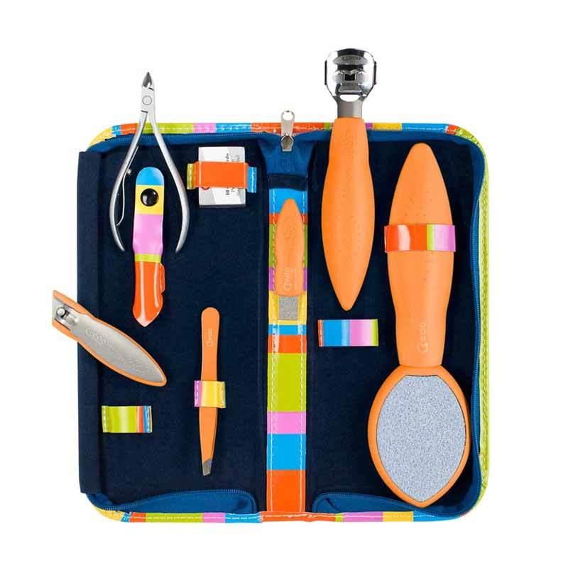 Credo Pop Art набор для педикюра N2 7 предметов