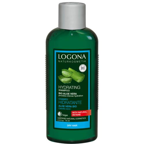 Logona шампунь для увлажнения волос с био-алоэ вера,