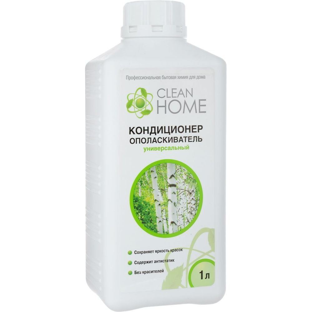 Clean Home Кондиционер-ополаскиватель для белья с ароматом русского леса 1л фото