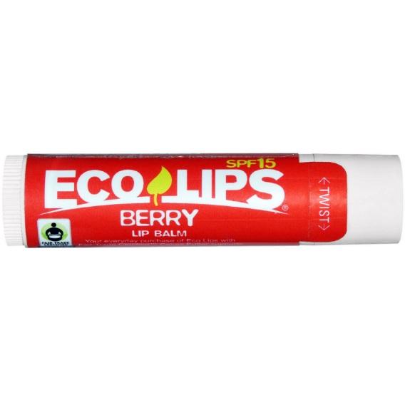 Купить Eco Lips Бальзам для губ SPF15 ягодный аромат 4, 25г