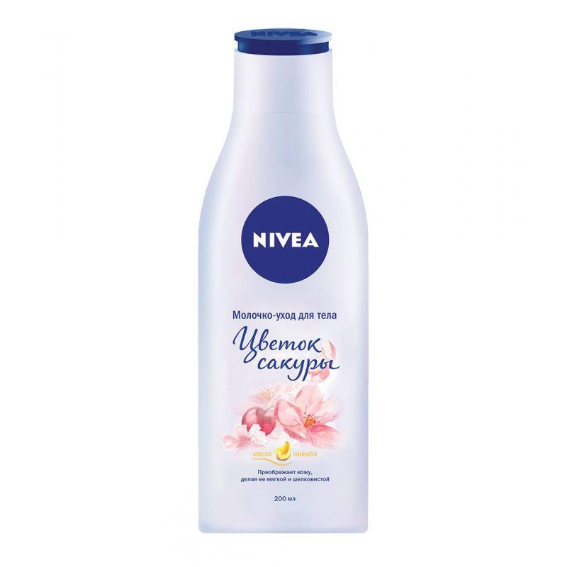 Купить Nivea Молочко-уход для тела Цветок сакуры 200мл