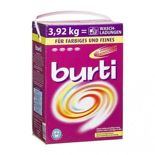 Burti Стиральный порошок для цветного и тонкого белья 3.92 кг от Лаборатория Здоровья и Красоты