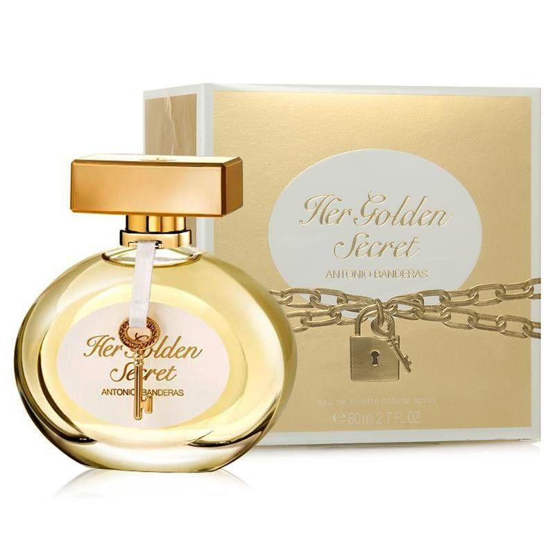 Antonio Banderas Her Golden Secret  вода туалетная жен 80 мл