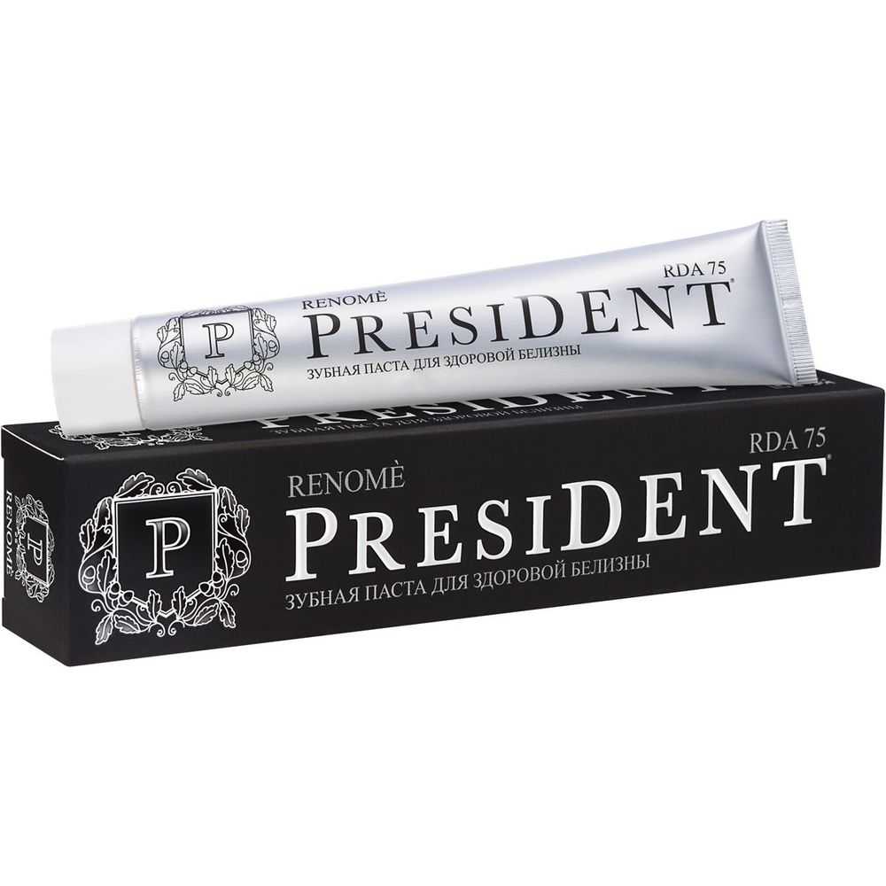Купить President Renome зубная паста 75мл