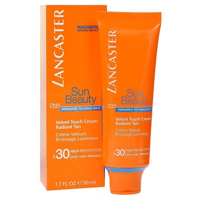 Lancaster sun beauty care крем нежный