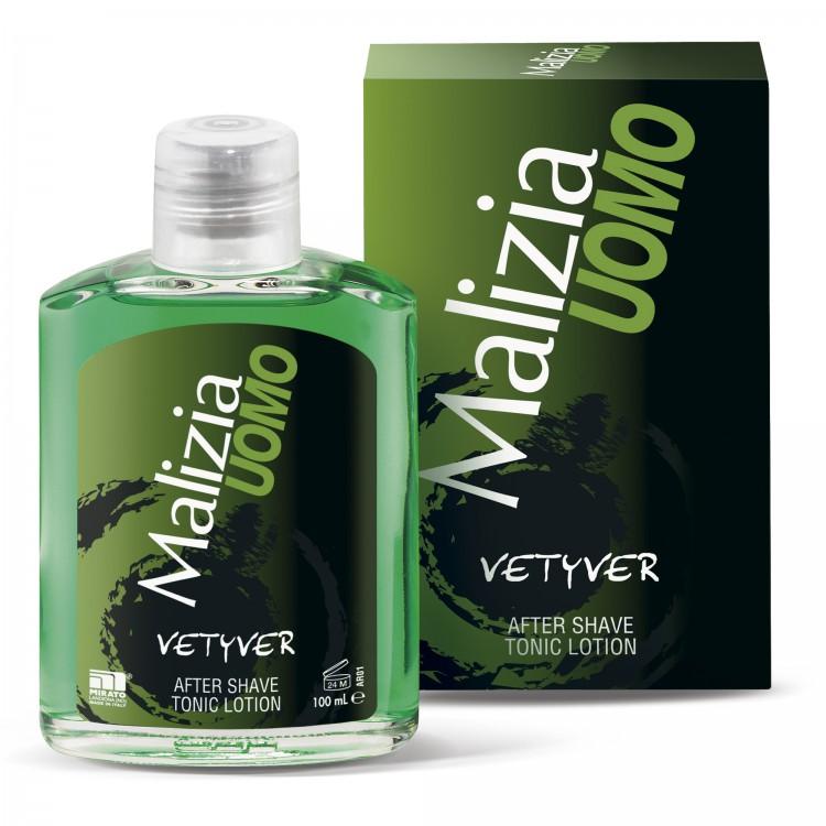 Malizia Uomo Лосьон после бритья для чувствительной кожи Vetyver 100 мл от Лаборатория Здоровья и Красоты