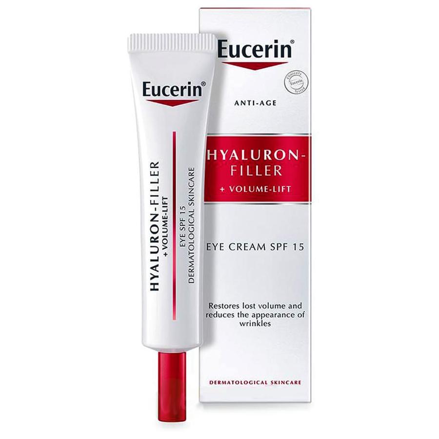 Eucerin Hyaluron-filler+Volume-lift крем для ухода за кожей вокруг глаз 15мл