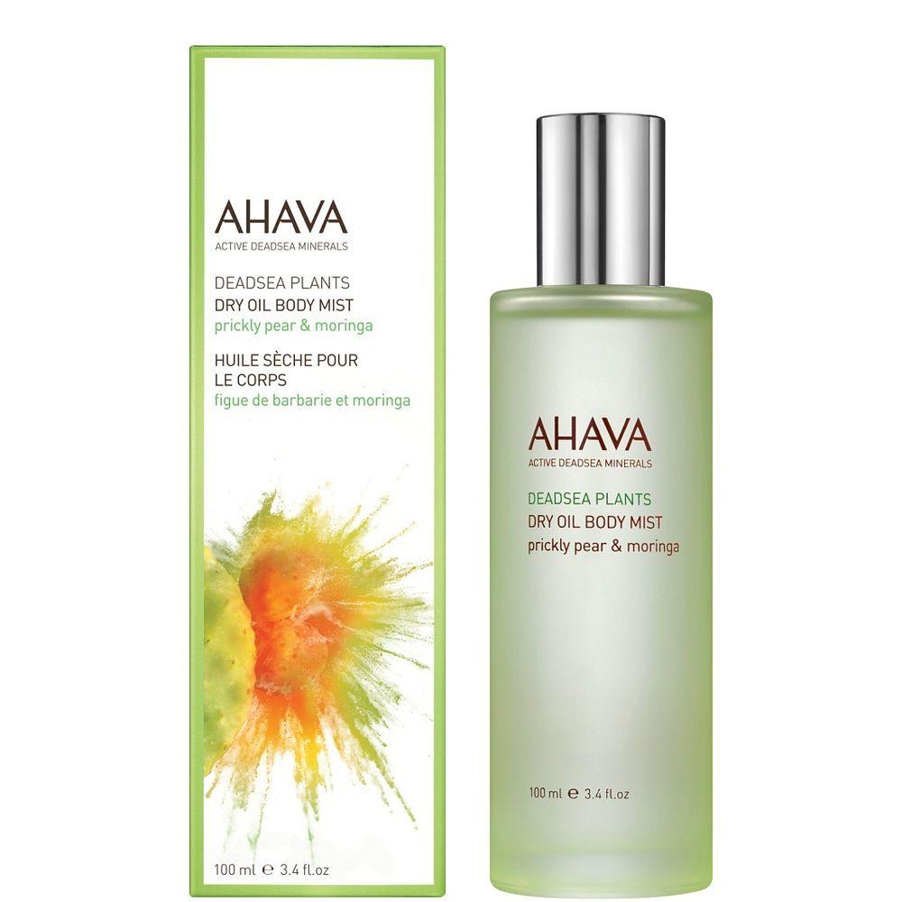 заказать AHAVA косметика Ахава (Ahava) Deadsea Plants Сухое масло для тела опунция и моринга 100мл