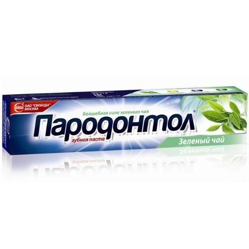 Купить Зубная паста Пародонтол Зеленый чай 124г Свобода
