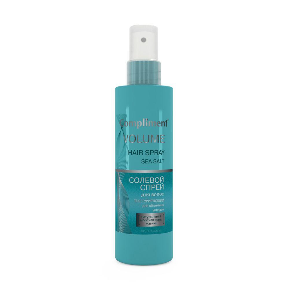 Купить Compliment Солевой спрей для волос текстурирующий для объемных укладок 200мл