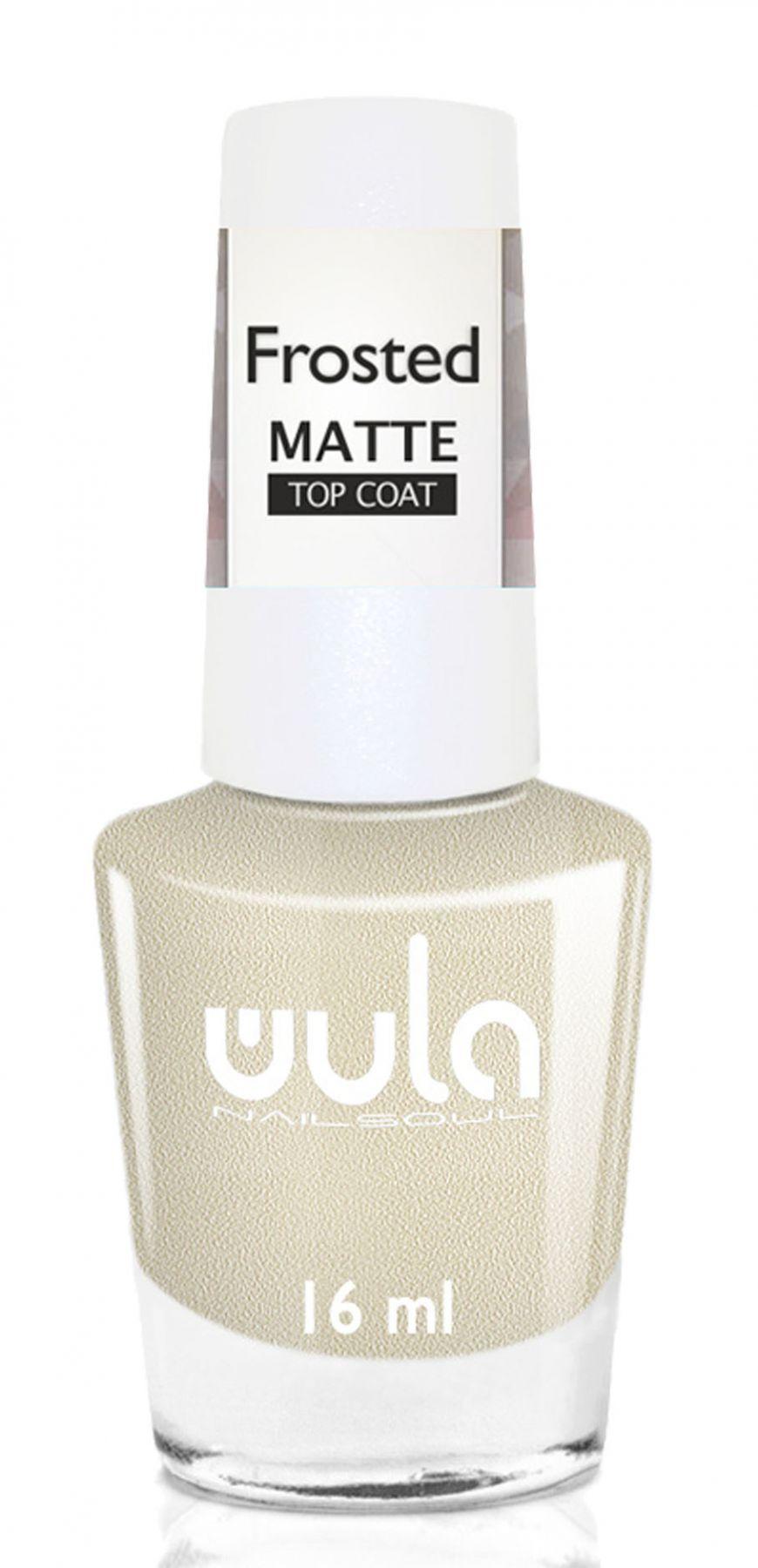 Купить Wula nailsoul Верхнее матовое покрытие для ногтей 16мл Frosted Matte Top Coat